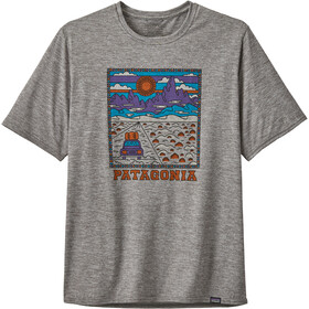 Patagonia Cap Cool Daily Graphic T-shirt Herre summit road/feather grey